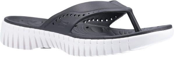 Skechers GOwalk Smart Mahalo Toe Post Ladies Summer Black / White